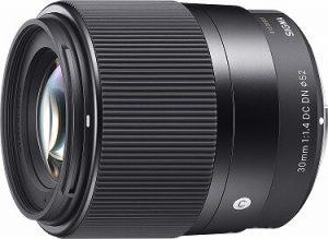 Sigma 30 mm lens