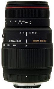 Sigma AF 70-300mm lens