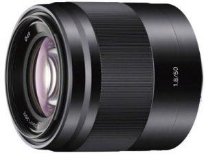 Sony SEL50F18 lens