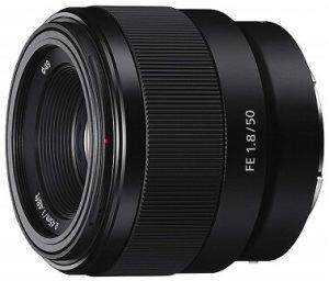 Sony SEL50F18F lens