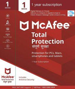 McAfee Total Protection anti virus